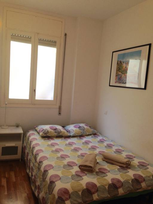 Sweet Double Room Near Arc de Triomf