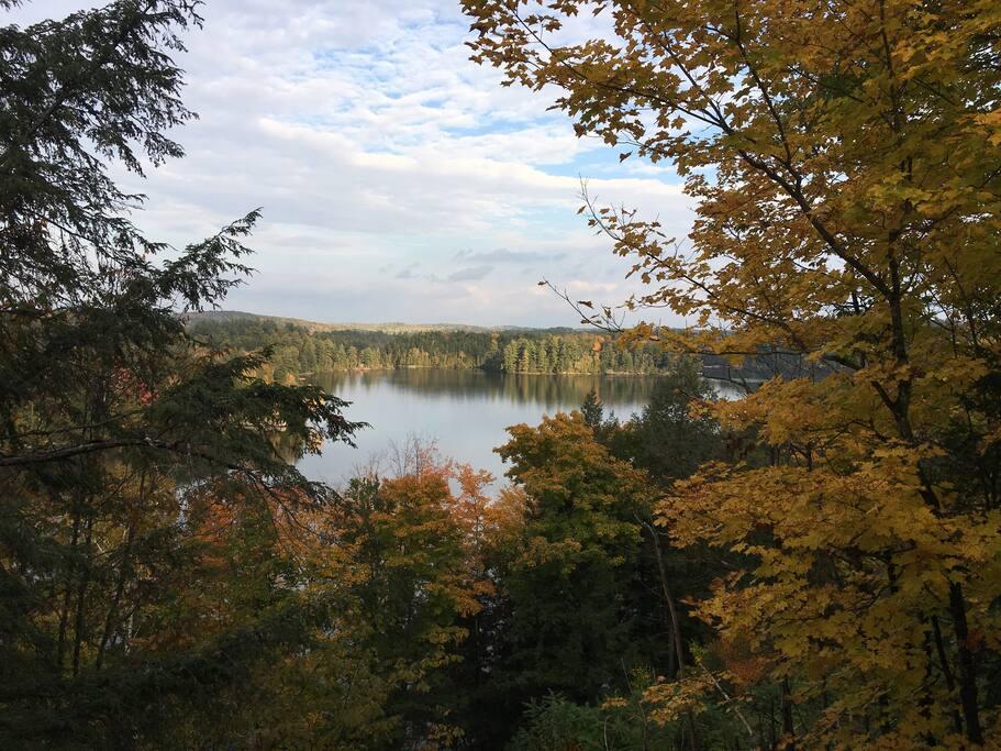 Vue du lac McGregor