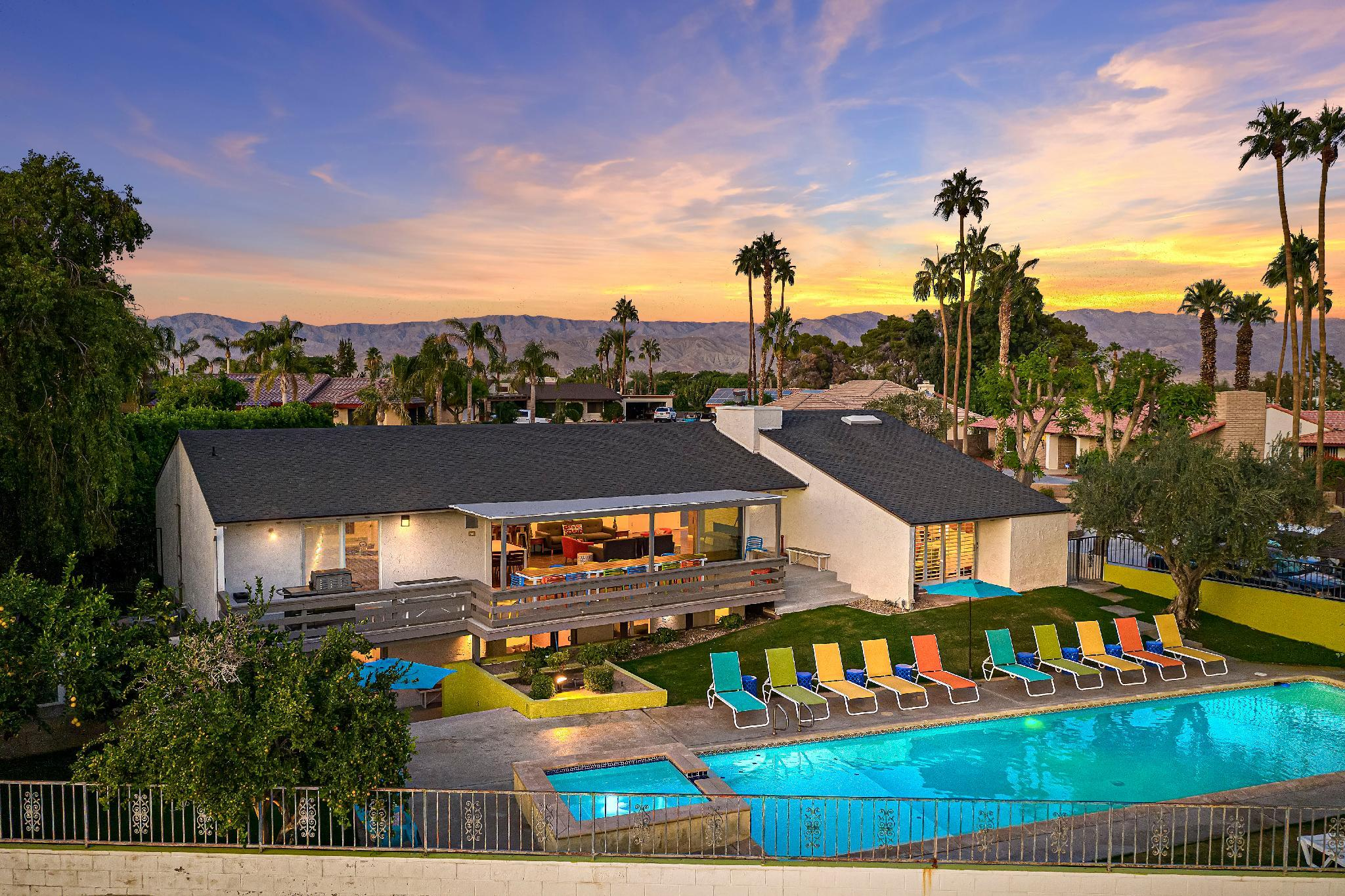 the Beverly: Mid-Century Modern Golf Retreat