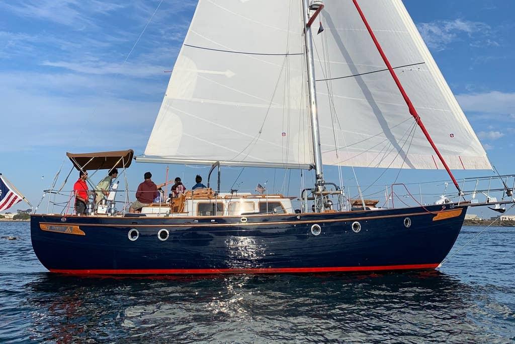 Dauntless 43' Sailing Boat
