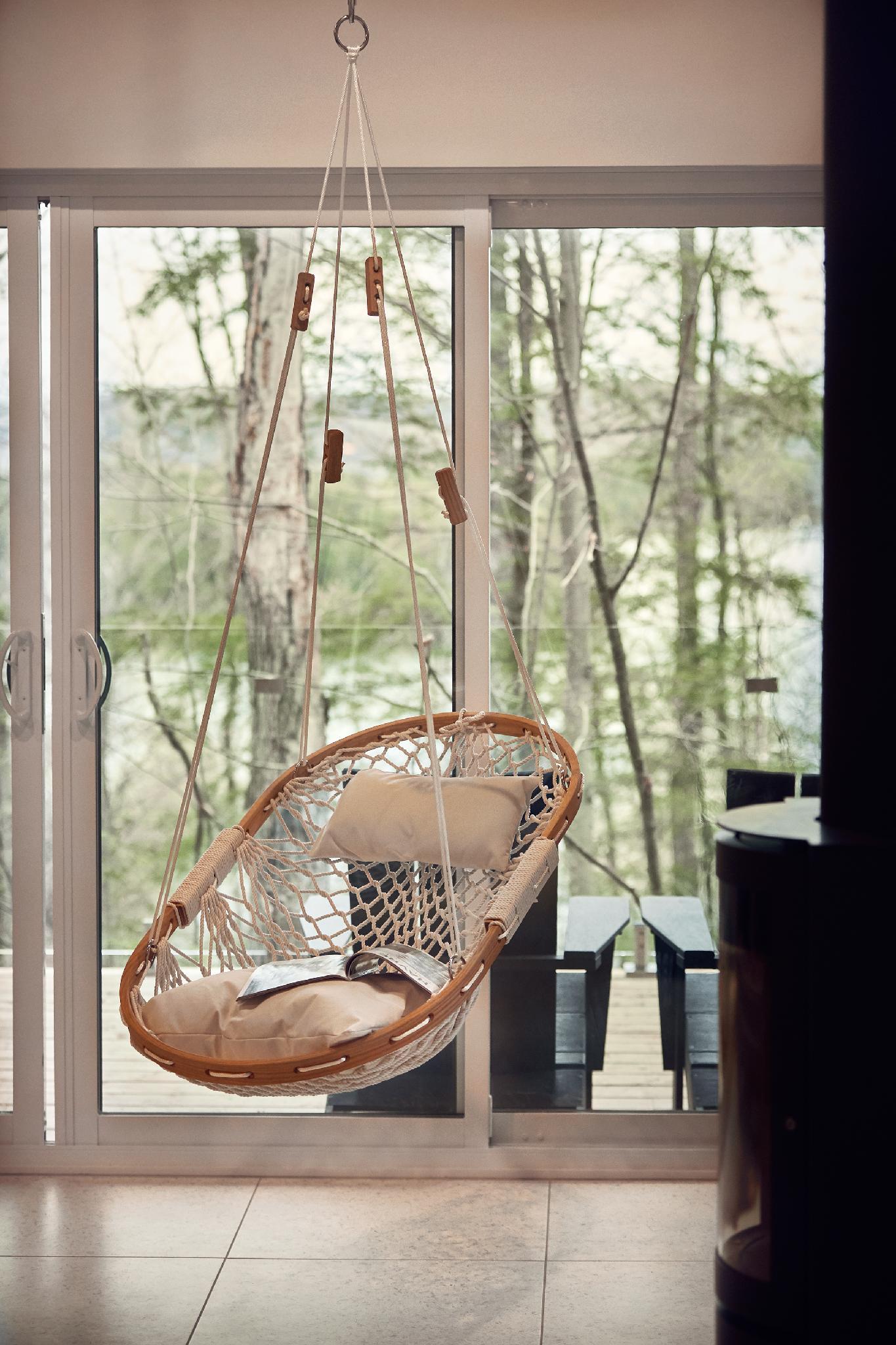 Chaise hamac: détente garantie