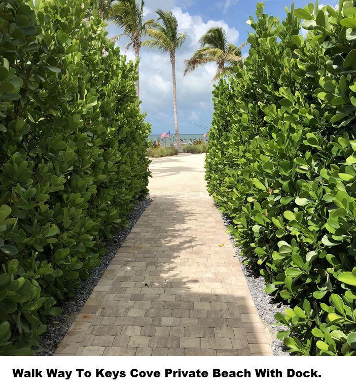 Keys Cove Beach Walk Way