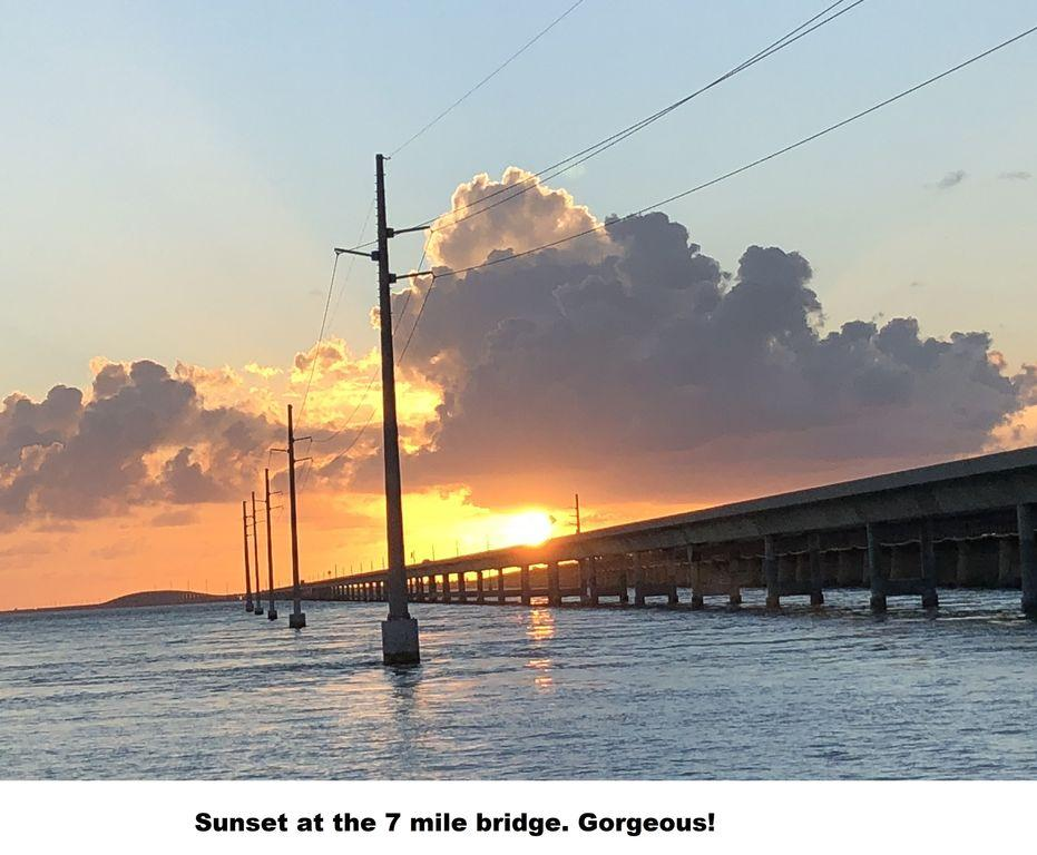 sunset 7 mile bridge