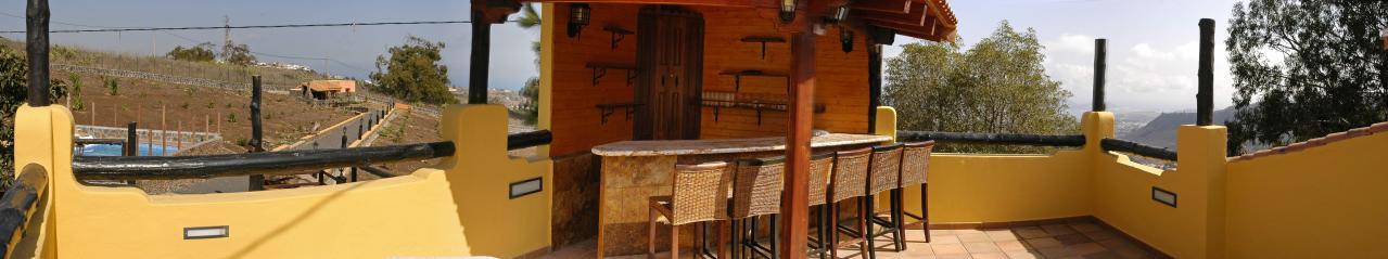 Casa de vacaciones grande con piscina en Arucas_61