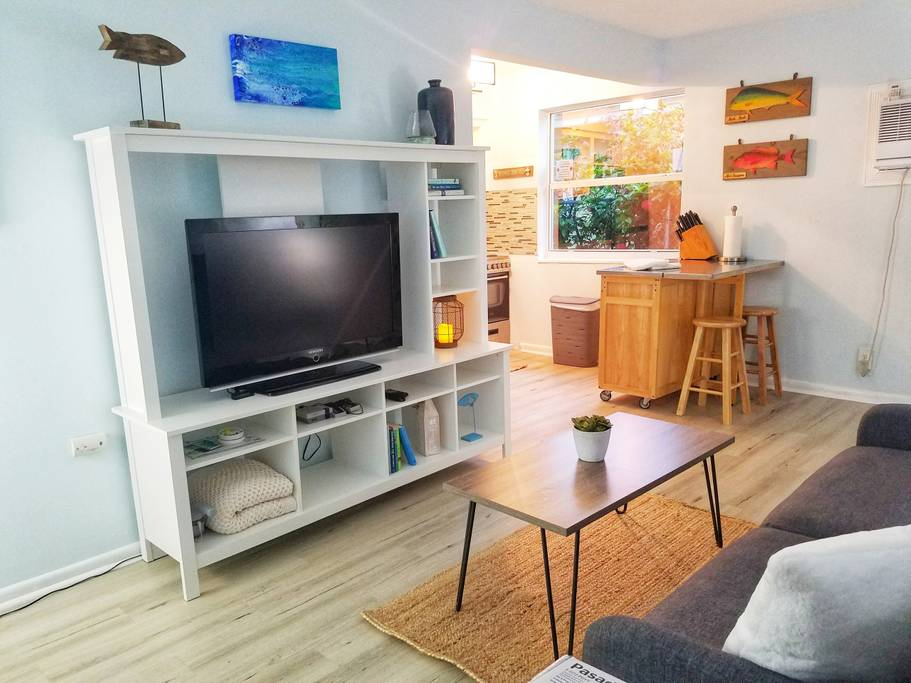 The Blue Lagoon | Tropical Cottage Downtown LW